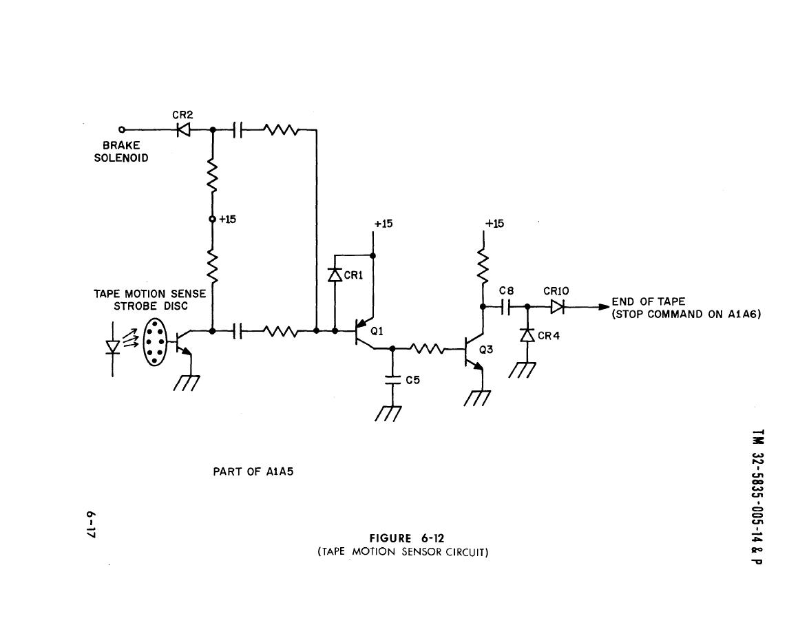 Figure 6 12 Tape Motion Sensor Circuit Light Switch Wiring Diagram